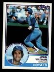 1983 Topps #746  John Wathan  Front Thumbnail