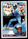 1983 Topps #77  Hosken Powell  Front Thumbnail