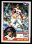 1983 Topps #153   Jerry Koosman Front Thumbnail