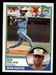 1983 Topps #750  Ben Oglivie  Front Thumbnail