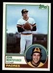 1983 Topps #223   John Montefusco Front Thumbnail