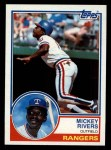 1983 Topps #224   Mickey Rivers Front Thumbnail