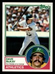 1983 Topps #47  Dave McKay  Front Thumbnail