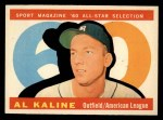 1960 Topps #561  All-Star  -  Al Kaline Front Thumbnail