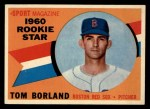 1960 Topps #117  Rookies  -  Tom Borland Front Thumbnail