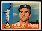 1960 Topps #517   Charlie James Front Thumbnail