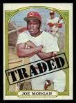 1972 Topps #752  Traded  -  Joe Morgan Front Thumbnail