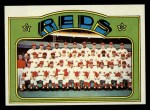 1972 Topps #651  Reds Team  Front Thumbnail
