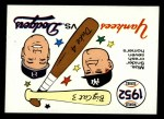 1970 Fleer World Series #49   -  Johnny Mize  / Duke Snider 1952 Yankees vs. Dodgers   Front Thumbnail