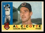 1960 Topps #473   Al Cicotte Front Thumbnail