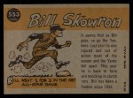 1960 Topps #553   -  Bill Skowron All-Star Back Thumbnail