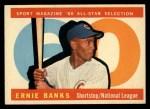 1960 Topps #560   -  Ernie Banks All-Star Front Thumbnail