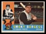1960 Topps #393  Smoky Burgess  Front Thumbnail