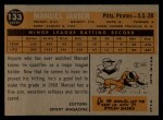 1960 Topps #133  Rookies  -  Manuel Javier Back Thumbnail