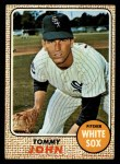 1968 Topps #72  Tommy John  Front Thumbnail