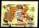 1970 Fleer World Series #31   1934 Cardinals vs. Tigers Front Thumbnail