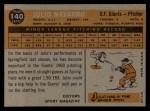 1960 Topps #140  Rookies  -  Julio Navarro Back Thumbnail