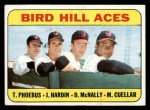 1969 Topps #532  Bird Hill Aces  -  Mike Cuellar / Jim Hardin / Dave McNally / Tom Phoebus Front Thumbnail