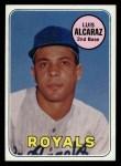 1969 Topps #437  Luis Alcaraz  Front Thumbnail