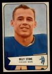 1954 Bowman #106  Billy Stone  Front Thumbnail