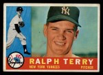 1960 Topps #96  Ralph Terry  Front Thumbnail