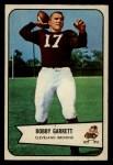 1954 Bowman #16  Bobby Garrett  Front Thumbnail