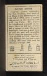 1911 T205 #97   Davy Jones Back Thumbnail