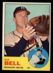 1963 Topps #547  Gus Bell  Front Thumbnail