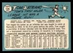 1965 Topps #124   Tom Satriano Back Thumbnail