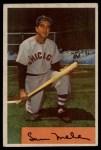 1954 Bowman #22 ALL Sam Mele  Front Thumbnail