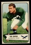 1954 Bowman #69  Ken Snyder  Front Thumbnail