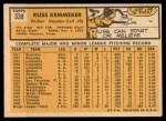 1963 Topps #338   Russ Kemmerer Back Thumbnail