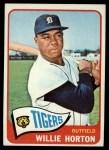 1965 Topps #206   Willie Horton Front Thumbnail