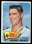 1965 Topps #242   George Brunet Front Thumbnail