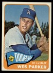 1965 Topps #344   Wes Parker Front Thumbnail