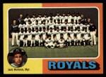 1975 Topps #72  Royals Team Checklist  -  Jack McKeon Front Thumbnail