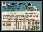 1965 Topps #129  Bennie Daniels  Back Thumbnail