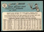 1965 Topps #492   Gene Freese Back Thumbnail