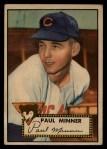1952 Topps #127   Paul Minner Front Thumbnail