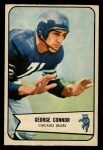 1954 Bowman #116   George Connor Front Thumbnail