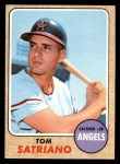 1968 Topps #238   Tom Satriano Front Thumbnail