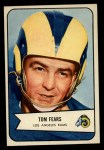 1954 Bowman #20  Tom Fears  Front Thumbnail