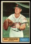 1961 Topps #57   Marv Throneberry Front Thumbnail