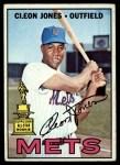 1967 Topps #165   Cleon Jones Front Thumbnail