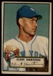 1952 Topps #141  Clint Hartung  Front Thumbnail
