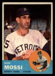 1963 Topps #530  Don Mossi  Front Thumbnail