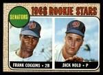 1968 Topps #96  Senators Rookies  -  Frank Coggins / Dick Nold Front Thumbnail