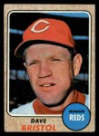 1968 Topps #148   Dave Bristol Front Thumbnail