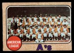 1968 #554   Athletics Team Front Thumbnail