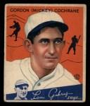 1934 Goudey #2  Mickey Cochrane  Front Thumbnail